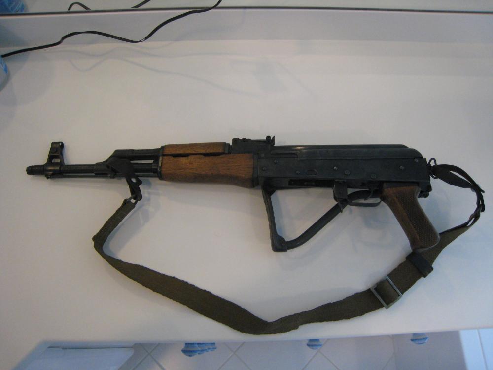 Norinco Type 56 (AK-47) Galil ser. no. CS - 05998 l. side.JPG