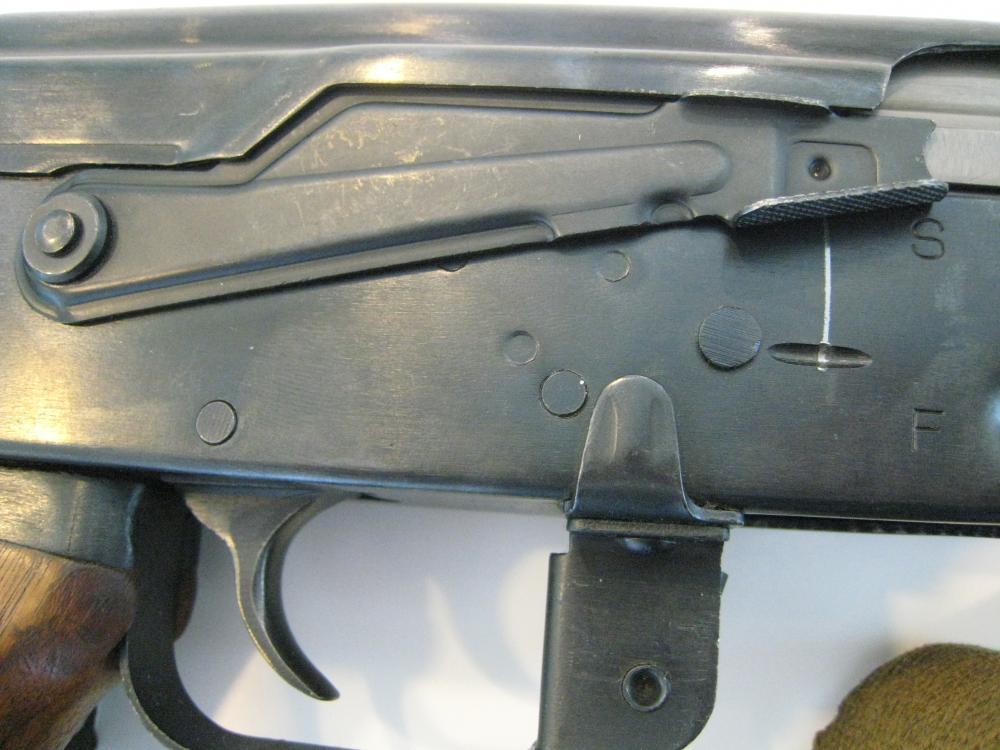 Norinco Type 56 (AK-47) Galil ser. no. CS - 05998 selector switch.JPG