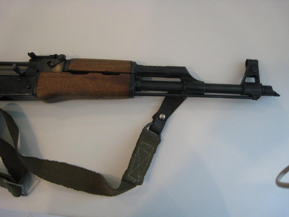 Norinco Type 56 (AK-47) Galil ser. no. CS - 05998, barrel, forehand.JPG