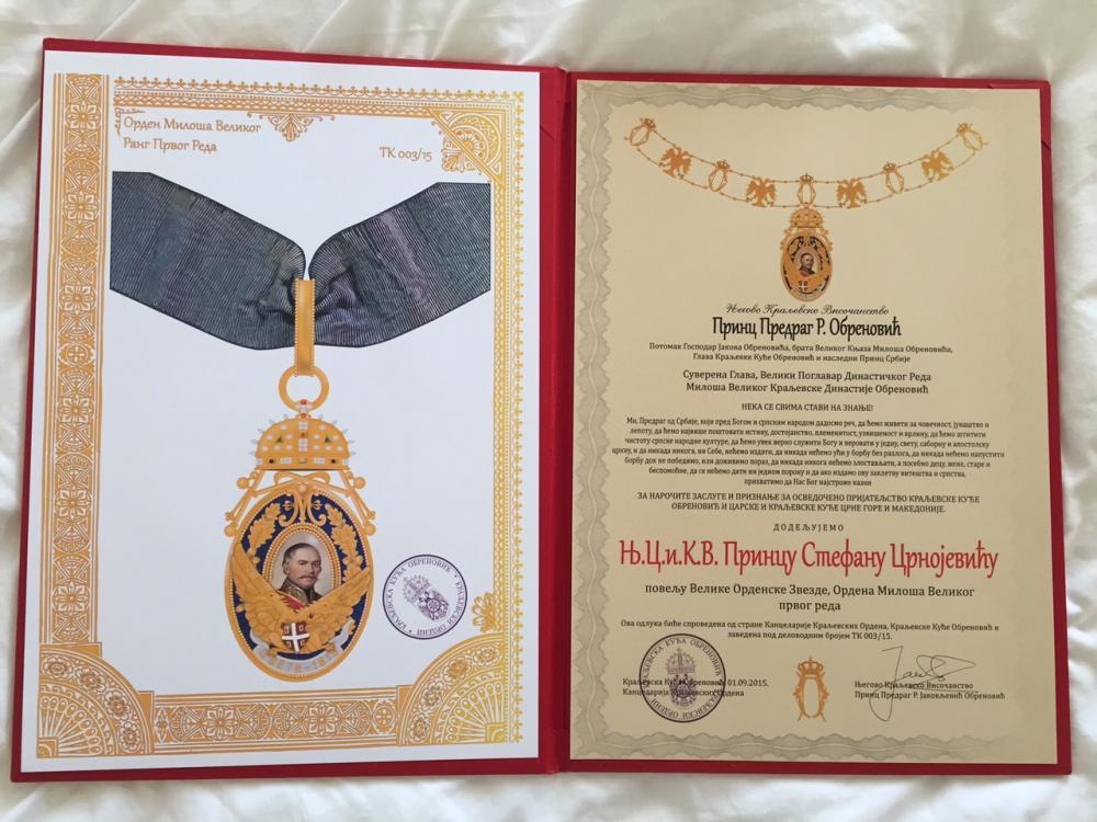 06 - Cavalierati della Casa Reale di Serbia.jpg