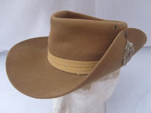 Wwii Scottish Slouch Hats Great Britain Militaria