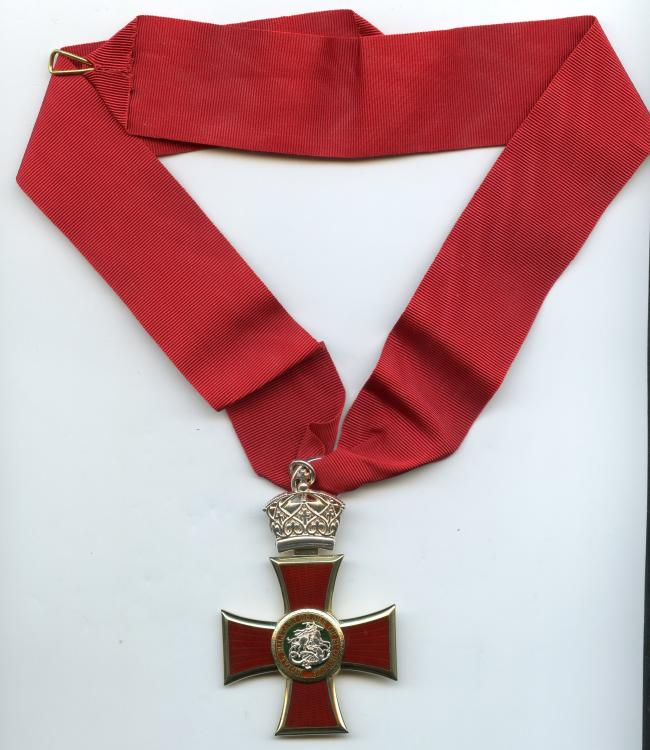 Tonga Order of St Georges 3rd Class neck badge obverse 2.jpg