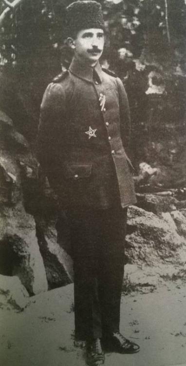 Miralay Mustafa İsmet Bey (1916) İnönü HM.jpg