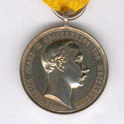 MECKLENBURG-SCHWERIN 1897 Memorial Medal for Grand Duke Friedrich Franz III.jpg
