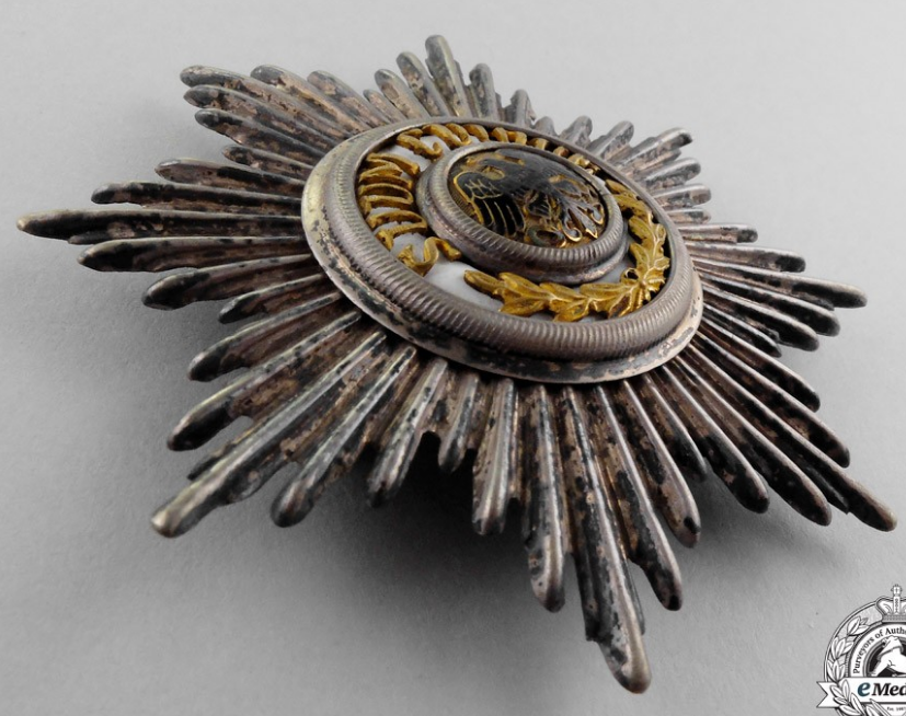 Prussian Black eagle pickelhaube plate .png