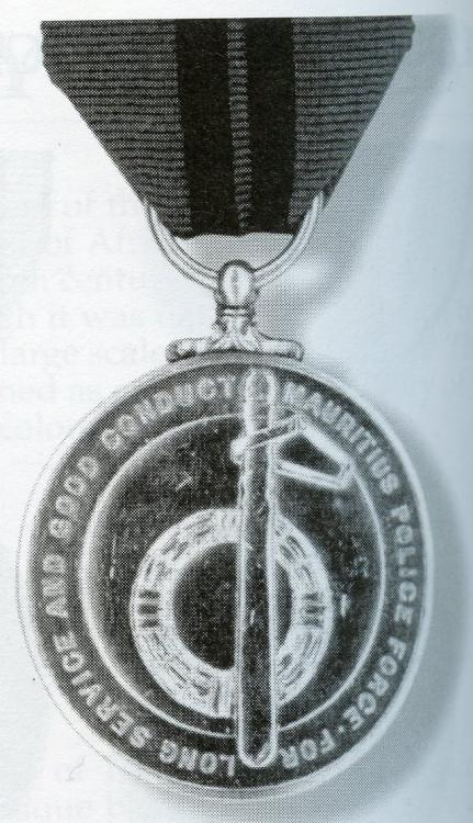 Mauritius Medal Police LSGC 1968-92 with Queen Elisabeth II on reverse.jpg