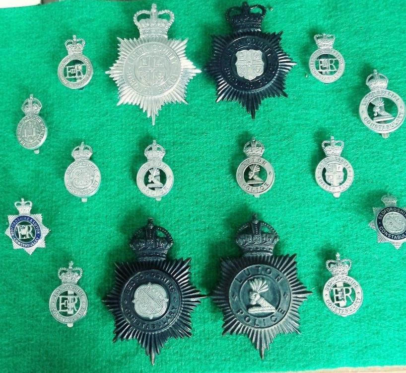 Luton & Beds police badges.jpg