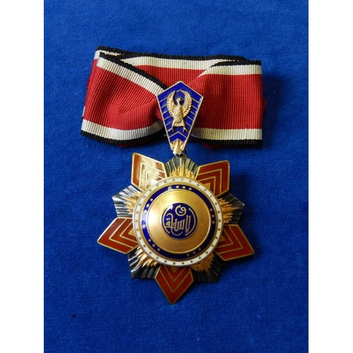 Egypt Order of Independence of the Republic.JPG