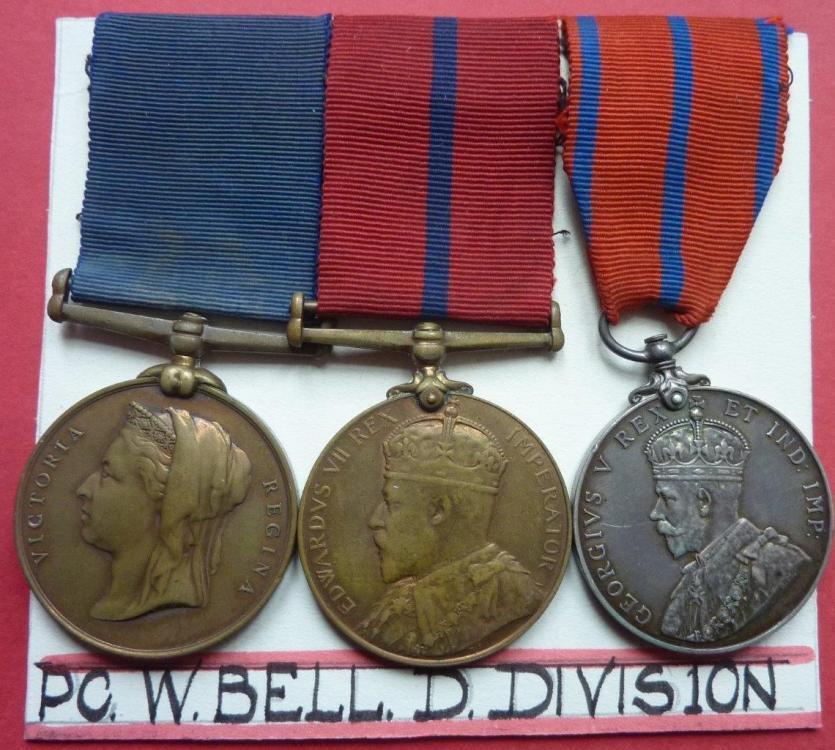 Metropolitan Police Coronation Medal  Trio photo 1.jpg