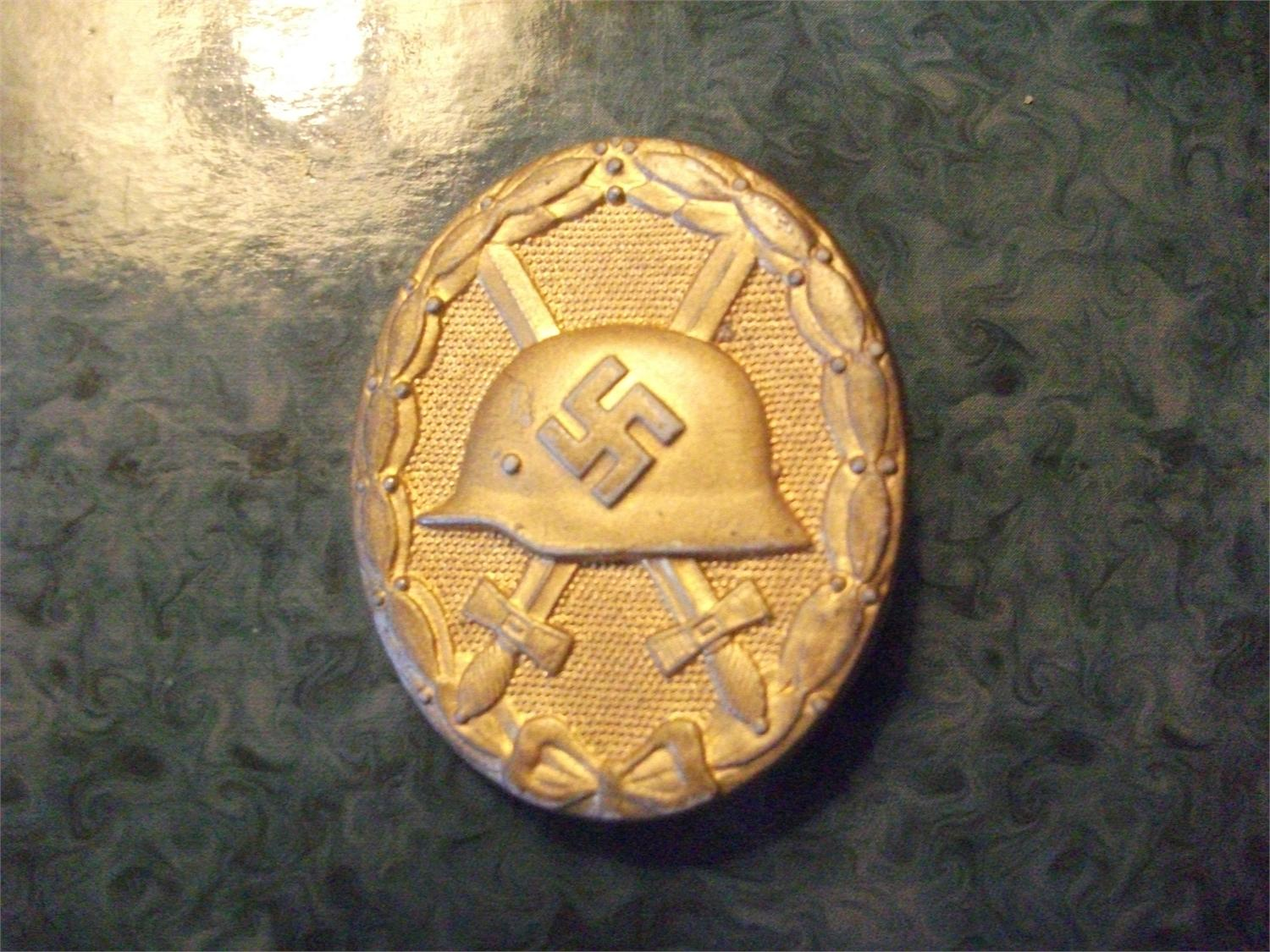 Wound Badge, maker number 127 - Germany: Third Reich