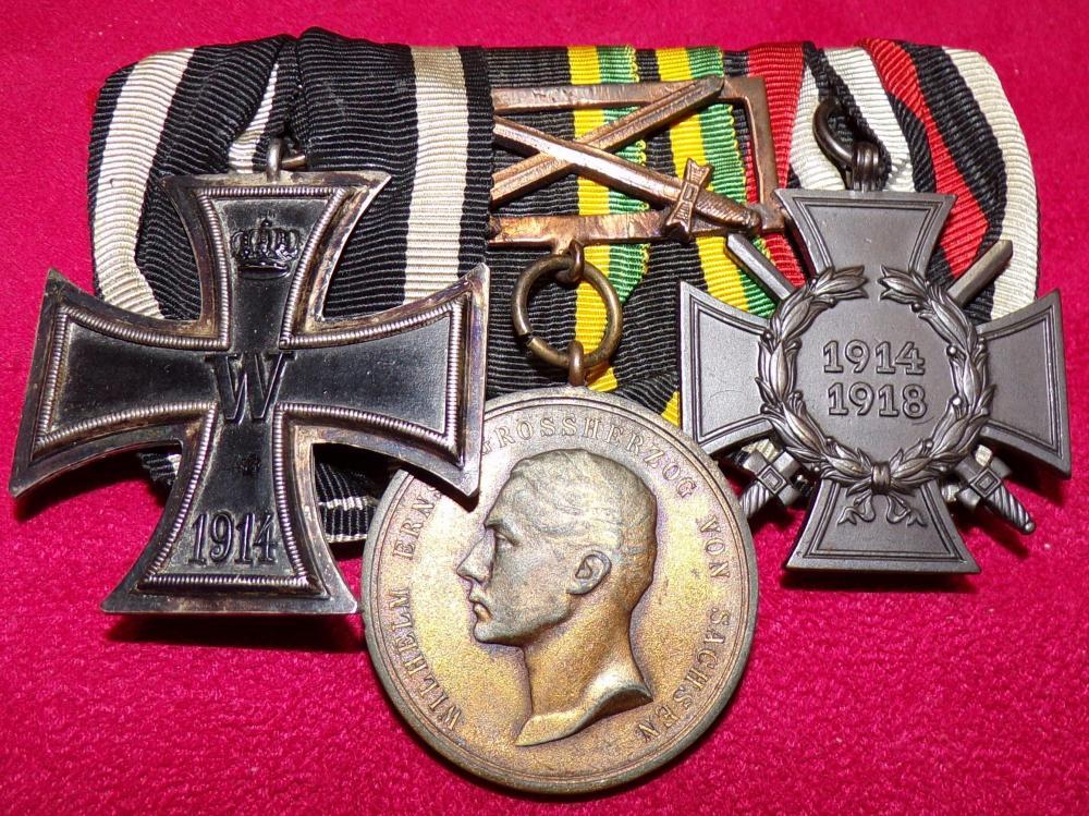 EK2, Saxon-Weimar General Honor Medal in Bronze, HK A.JPG