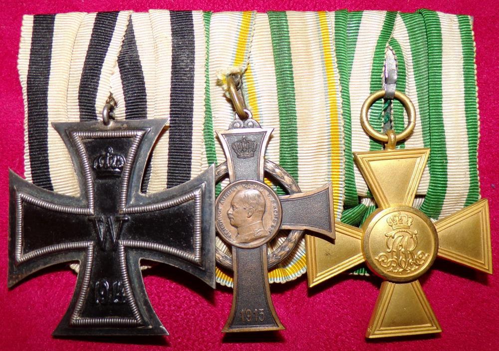 NCEK2, SAXON WW1 SERVICE CROSS, SAXON OFFICER 25 YEAR CROSS A.JPG