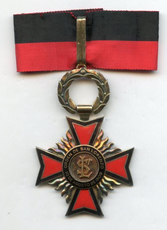 Ecuador Order of San Lorenzo Commander obverse.jpg