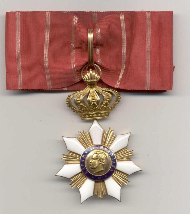 Madagascar Order of Merit of Radama II Cmdr obverse.jpg