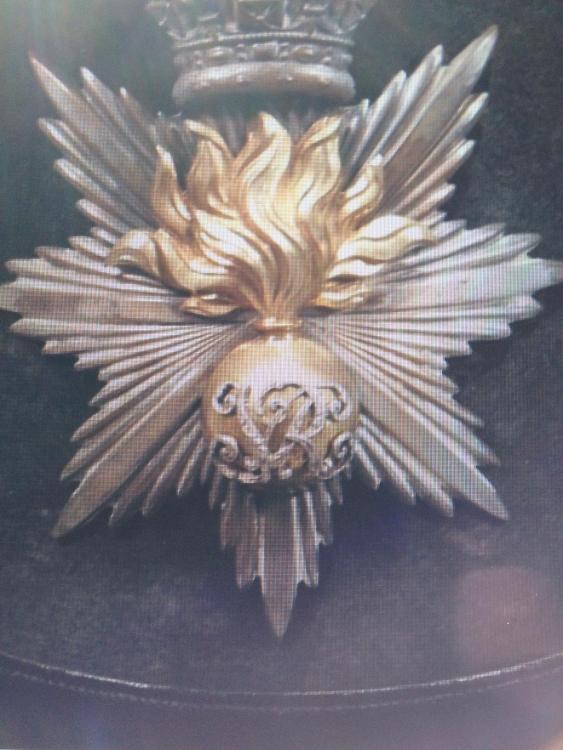 HAC Officers 1848 Pattern Shako Badge.JPG