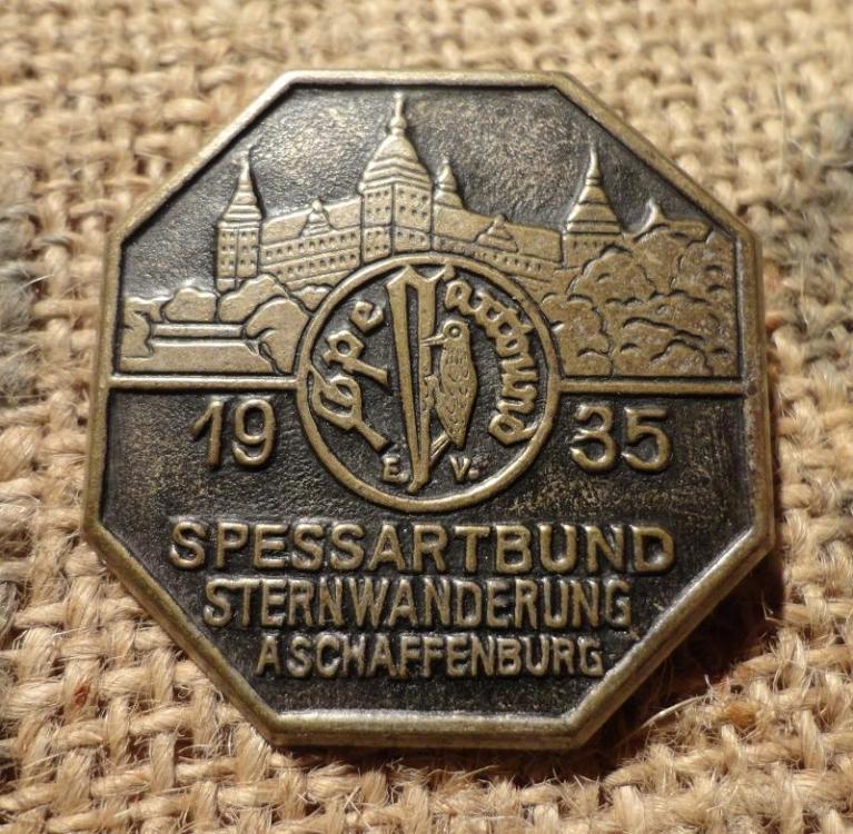 Spessartbund Sternwanderung Aschaffenburg 1935.JPG