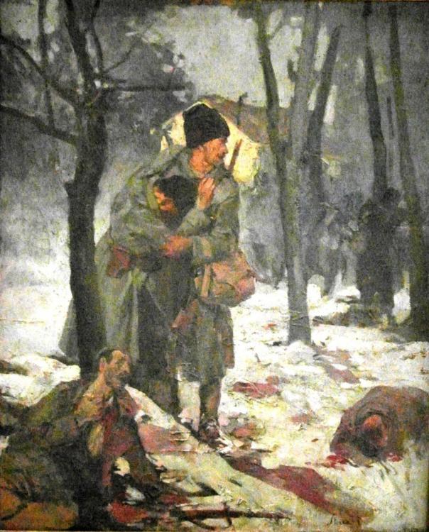 1917_-_Ion_Stoica_Dumitrescu_-_Scena_de_lupta_I_-_Marele_Razboi.jpg