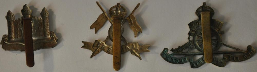 1st half cap badges etc.JPG