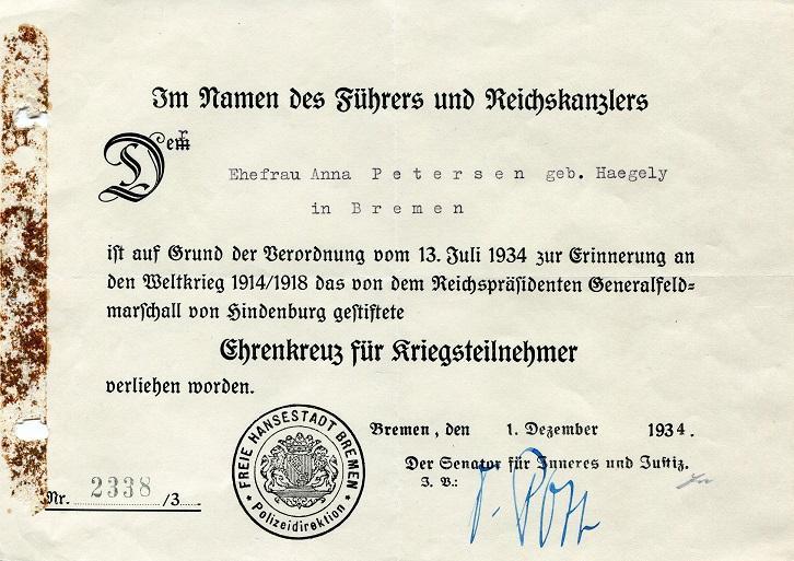 Petersen, Anna Urkunde 1.jpg