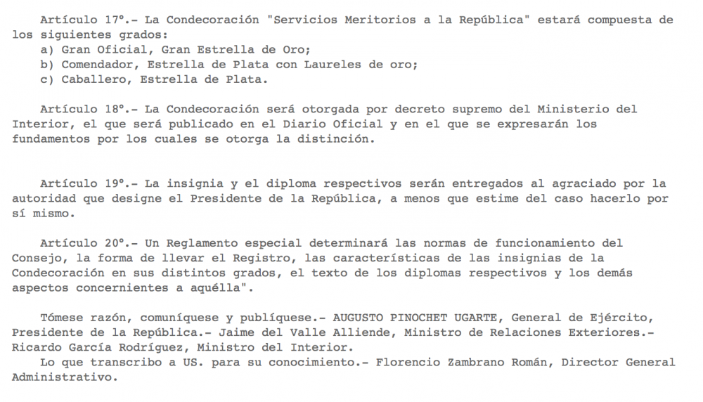 Chile Decoration of Meritorious Service to the Republic Decree N° 435.png
