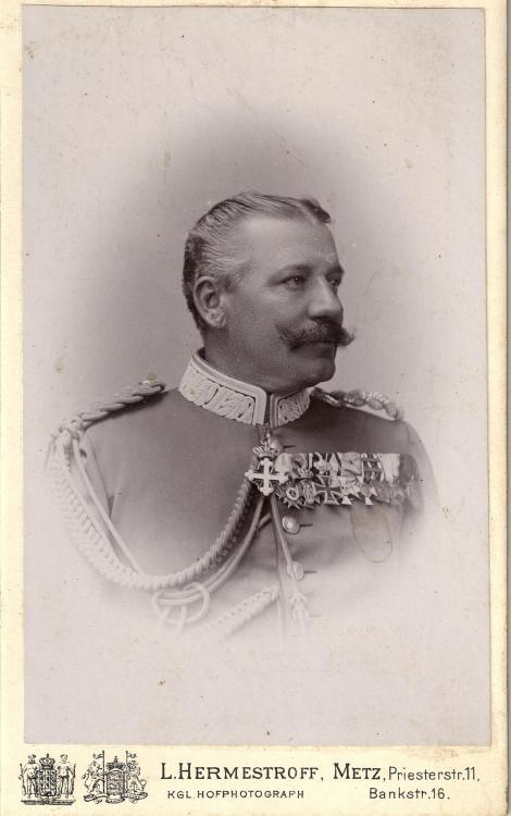 LEICHTENSTERN - Generalmajor Karl Leichtenstern, Commander of the 10. Infanterie-Brigade .jpg
