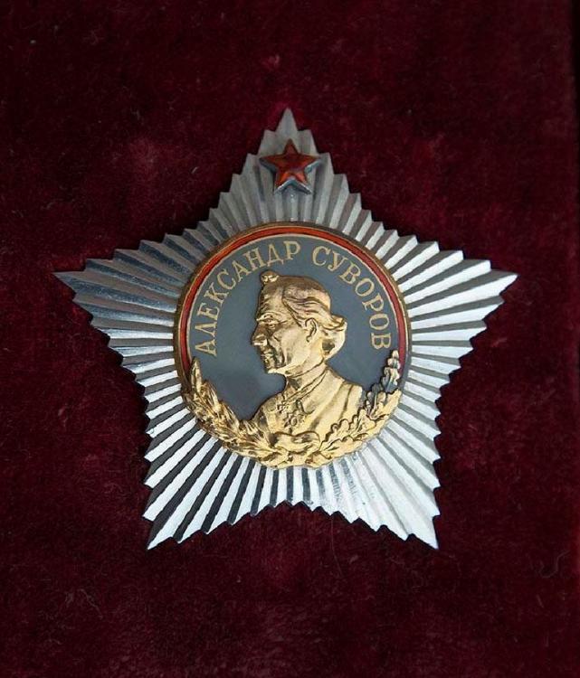 Order of Suvorov 1st class - Koča.jpg