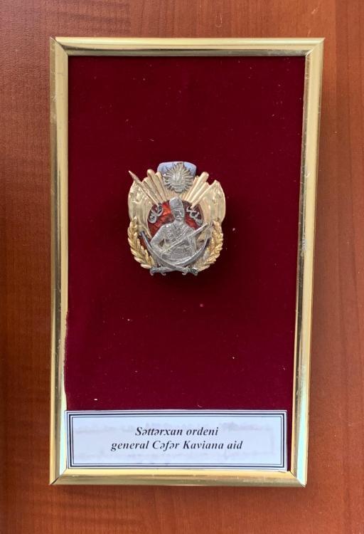 Azerbaijan Sattarxan Order 1st Republic 1918-20.jpeg