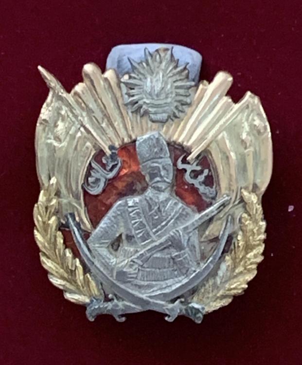 Azerbaijan Sattarxan Order 1st Republic 1918-20 close up.jpeg
