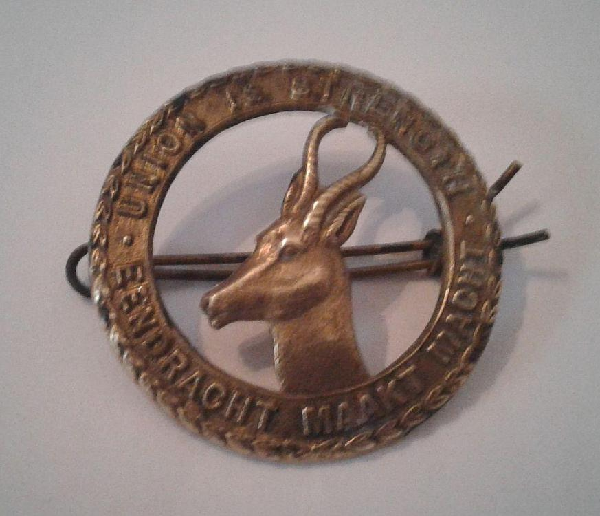 TIPTAFT B.HAM South African Infantry WW1 Cap Badge.jpg