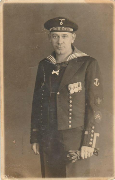 Panzerschiff Deutschland tally in wear.  Interesting medal.jpg