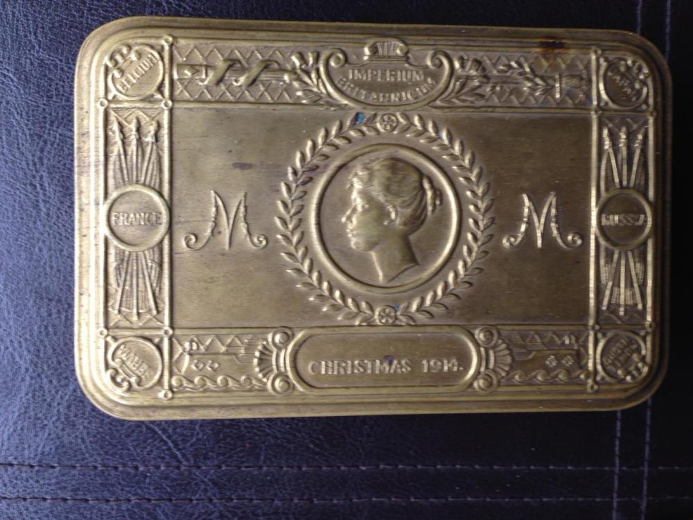 William Richmond Thomas, Christamas WW1 Tin.jpg