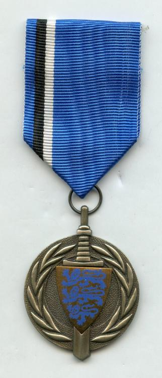Estonia Estonian Peace Operation Center Medal obverse small size.jpg