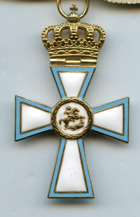 Greece Cross of Valour Commander Cross WWII obverse close up.jpg