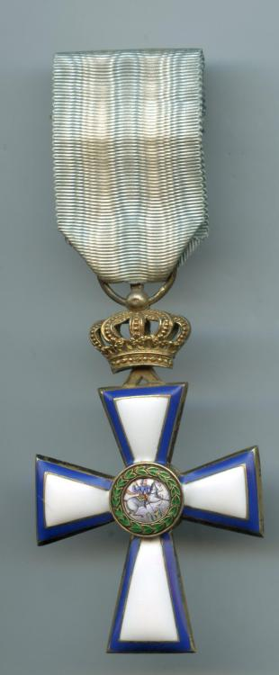 Greece Order Cross of Valour 1st Class 1913 obverse.jpg