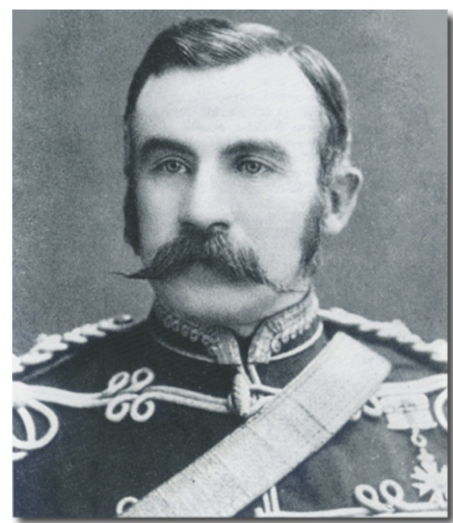 "Lt Col French  Commandant of the School of Gunnery, Kingston and Officer Commanding ""A"" Battery"
