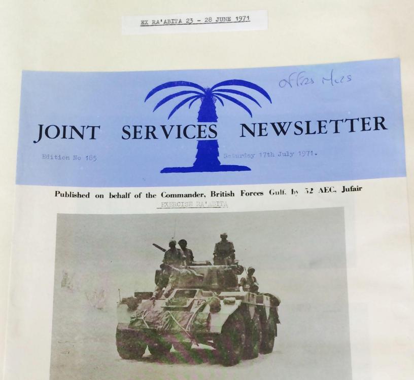 Joint Services Newsletter 1971, AEC Jufair.jpg