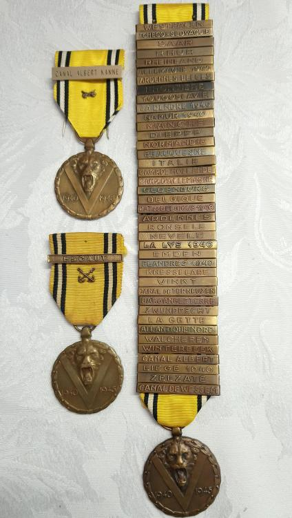 Belgium-Commemorative medal of the War 1940-1945 with Various clasps-O-E325.JPG