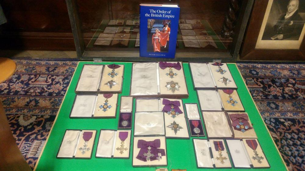 The Most excellent order of The British Empire with the book muokattu.jpg