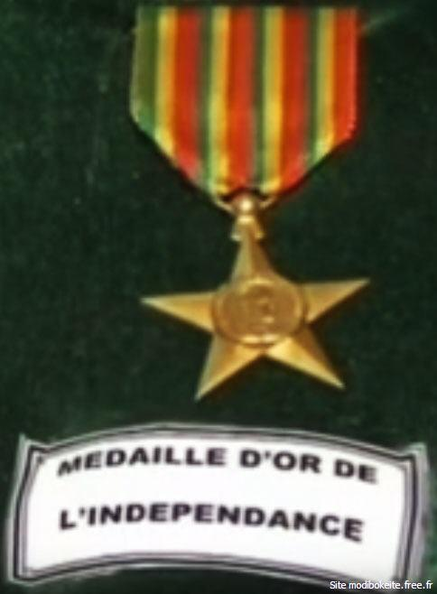 Mali medaille d'Or de l'Independance.jpg