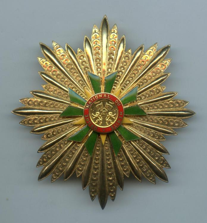 Togo Ordre of Merit Grand Cross breast star small size file.jpg