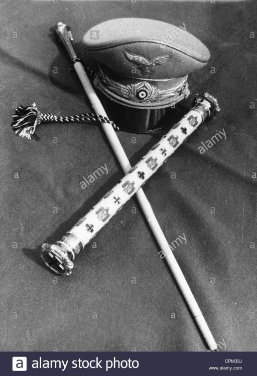 the-marshals-baton-and-hat-of-hermann-goering-1938-CPM33J.jpg