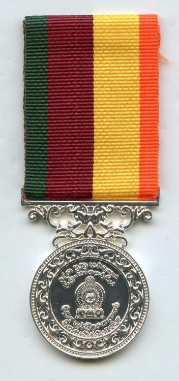 Sri Lanka Police NE operation Medal obverse.jpg