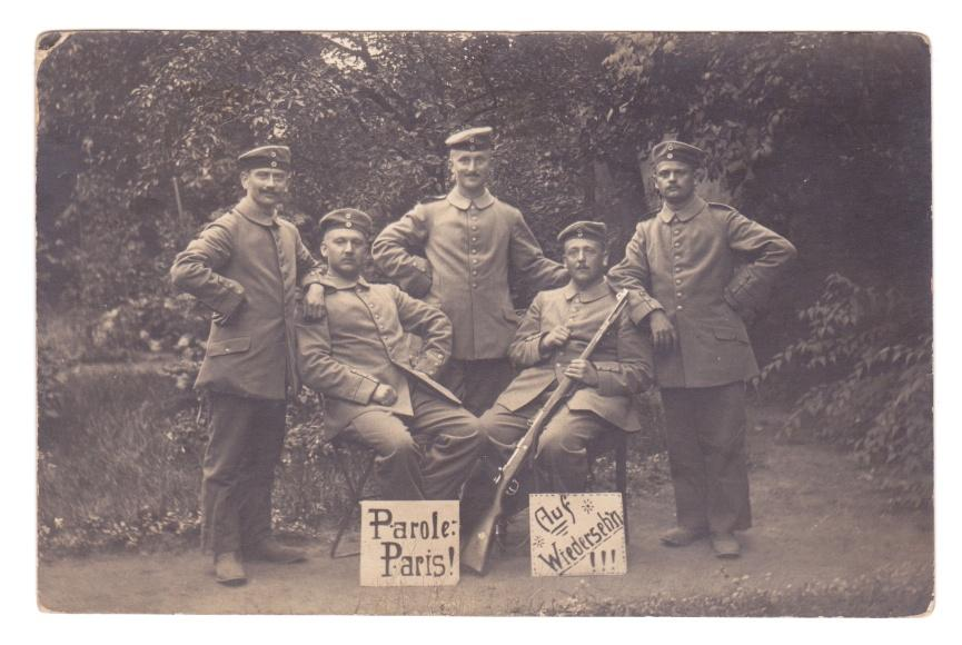 WWI Postcard German Parole Paris 1914 - Version 2.jpg