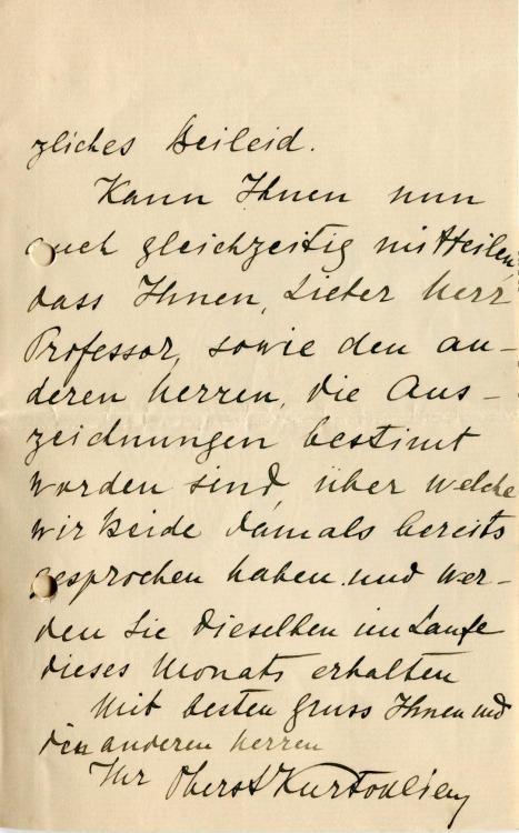 Schreiben an Paira von Flügeladjutant des Zaren Ferdinand Oberst Nicolas Kurtokliew 2.jpg