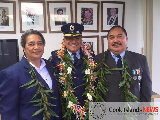 Cook Islands Ceremony where 2 Cook Ils Police Officers were awarded Royal Solomon Island Police Medal.jpg