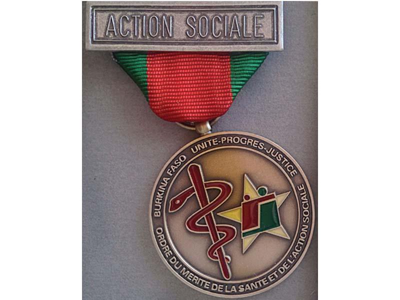 Burkina Faso Ordre du Merite de la Santé et de l'Action Sociale.jpg