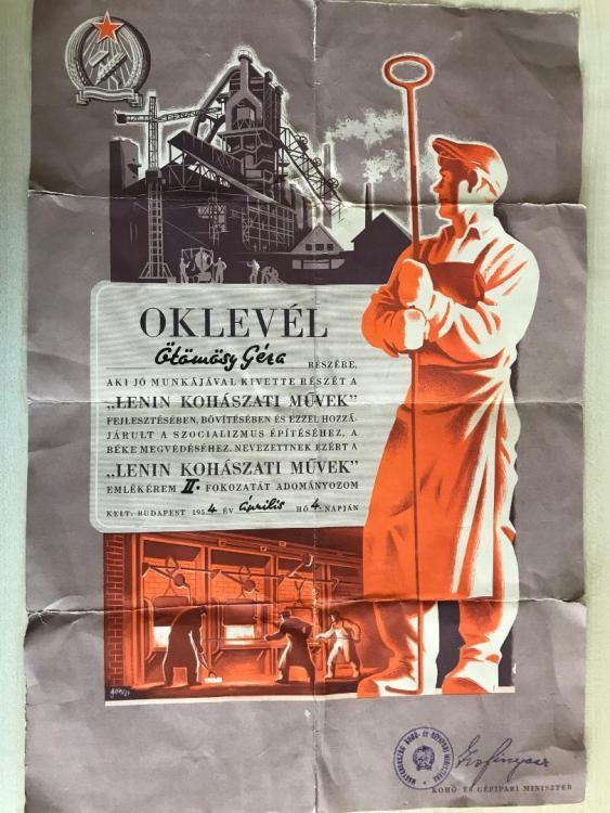 Lenin Staalwerk Urkunde.jpg