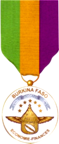 Burkina Faso Ordre du Merite de l'Economie et des Finances.png