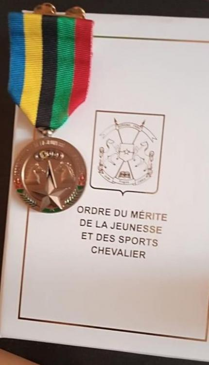 Burkina Faso Ordre du Merite de la Jeunesse et des Sports Officer by ELM.JPG