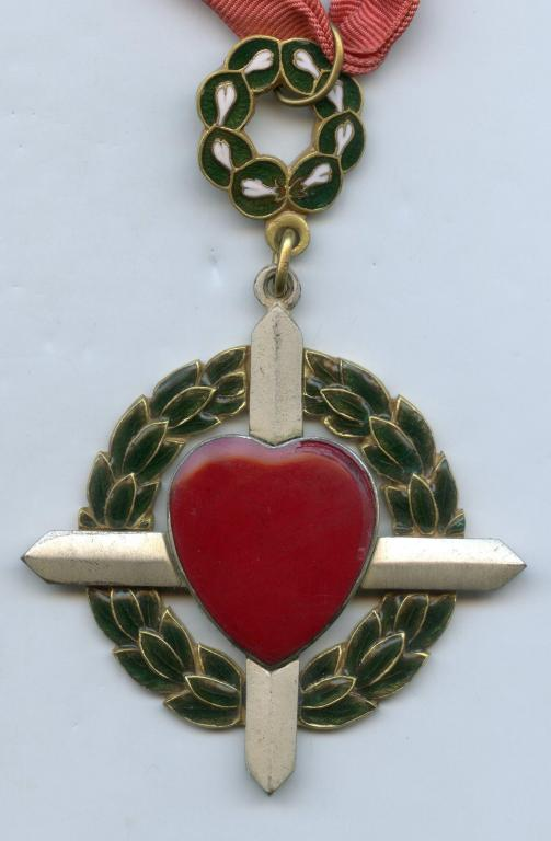 Philippines Order of the Grieving Heart obverse close up.jpg